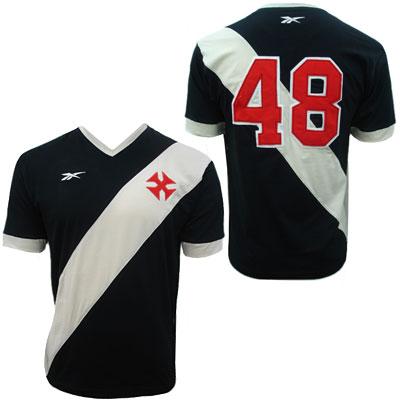 A camisa retrô pode ser adquirida por intermédio do site da Vasco Boutique.