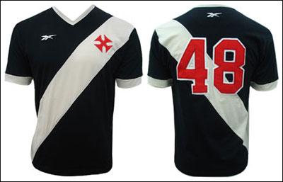 A camisa pode ser adquirida no site da Vasco Boutique.