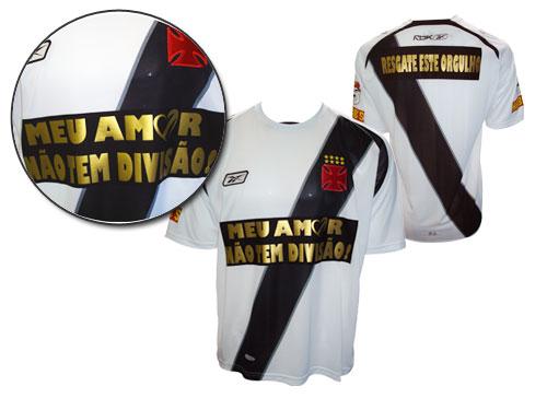NETVASCO - 19/12/2008 - SEX - 21:06 - <b>Camisas 'Meu amor não tem divisão'  não estão mais à venda</b>