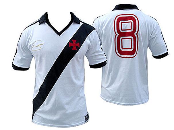 NETVASCO - 07/04/2009 - TER - 02:12 - <b>Camisa em homenagem a Geovani em  pré-venda na Vasco Boutique</b>