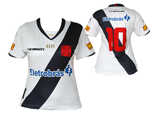 NETVASCO - <b>Camisa oficial feminina da Penalty à venda na Vasco Boutique</b>  - 10/08/2009 - SEG - 03:00