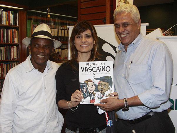 """Lançamento do livro """"Meu Pequeno Vascaíno"""" 20090909antoniopitangafernandaabreudinamite"""