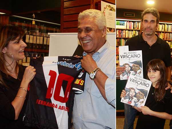 """Lançamento do livro """"Meu Pequeno Vascaíno"""" 20090909fernandaabreudinamite"""