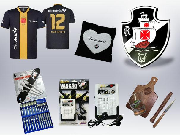 006498ed0c Torcida vascaína tem várias opções para presentear os amigos e familiares  com artigos oficiais do clube