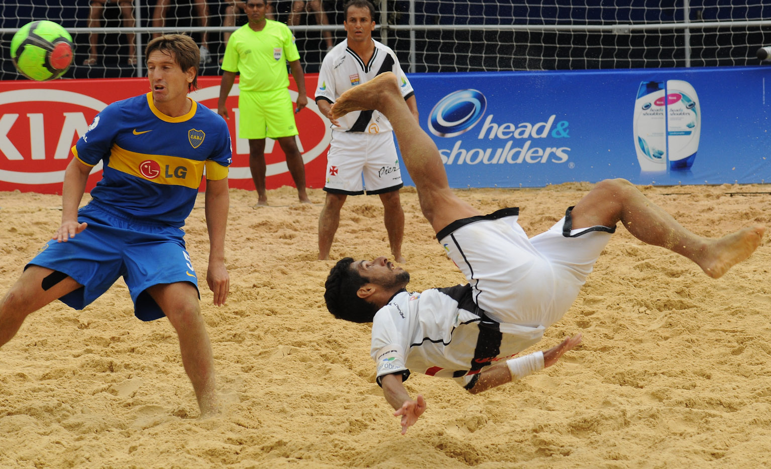 netvasco beach soccer vasco vence boca juniors nos