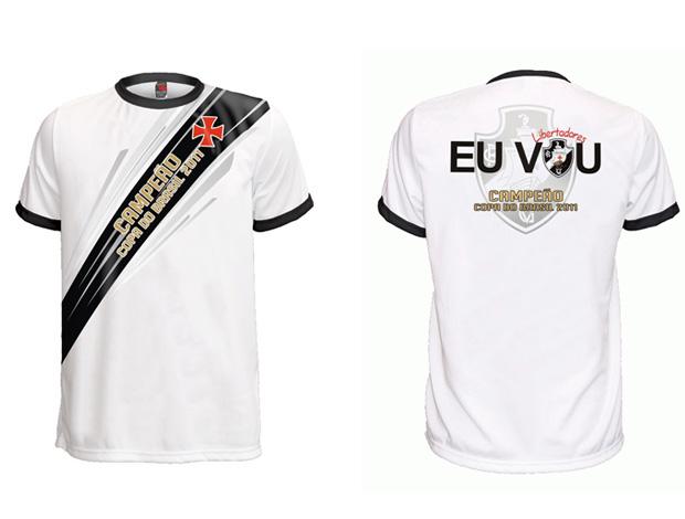 Camisa do título da Copa do Brasil em pré-venda na Vasco Boutique