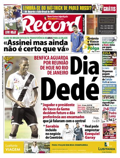 recorde jornal record