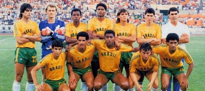 Site da CBF relembra seleção olímpica medalha de prata em Seul-1988 ... 27ddc298689a9