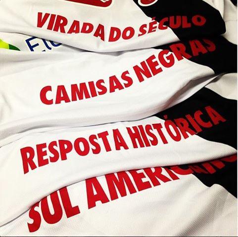 1027ecaf73 Camisas do jogo Vasco x Portuguesa trouxeram expressões referentes ao clube