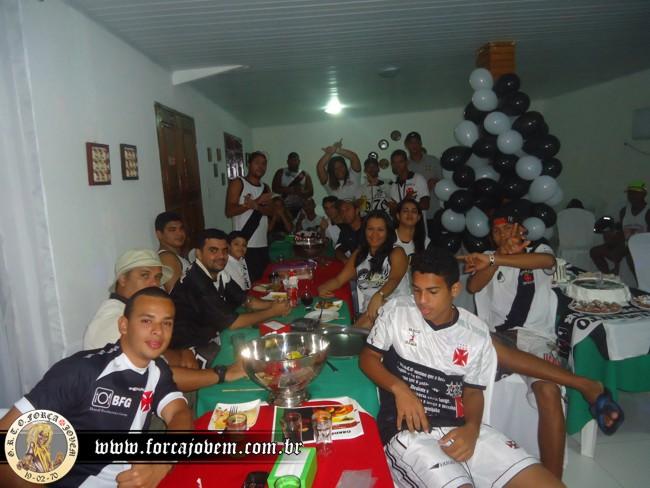 01fef09a8f Força Jovem de Alagoas comemorou aniversário do Vasco - NETVASCO