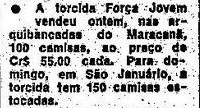 Força Jovem Jornal O Globo 1977 bc86173ac0b85