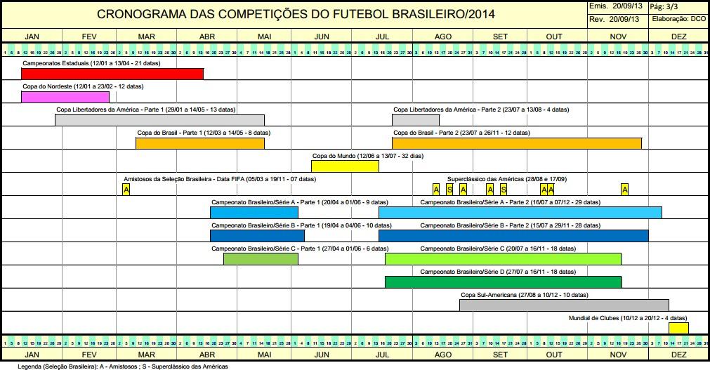 CBF divulga calendário do futebol brasileiro de 2014 - NETVASCO c5aea02f07e19