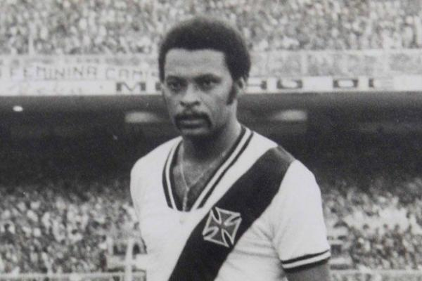 Alfinete com a camisa do Vasco