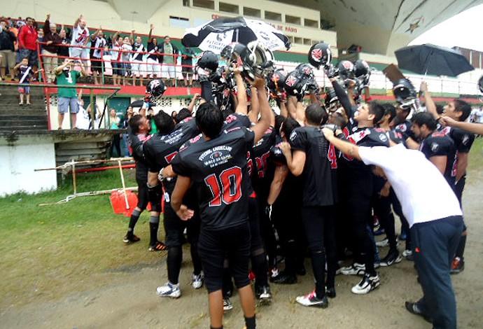 Futebol Americano  Vasco derrota Corinthians e vai à semifinal do ... 86036d8a7f8ba