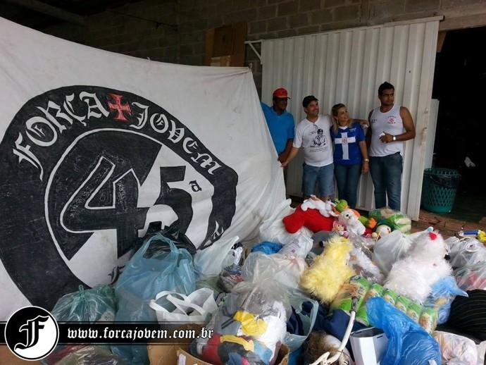 9be88fea02 Força Jovem 45ª Família promoveu ação social em Cuiabá (MT) - NETVASCO