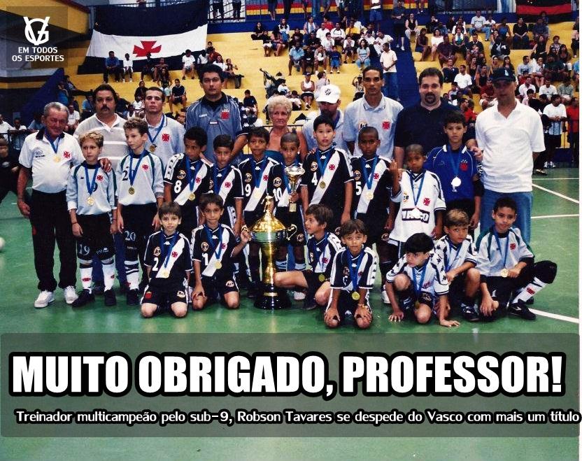 Futsal Base  Treinador Robson Tavares fala sobre o Sub-9 do Vasco ... d8730101e8327