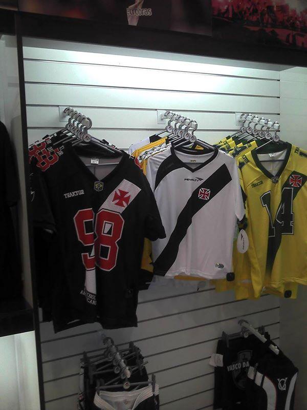 ce05c08dd5 Futebol Americano  Camisa do Vasco Patriotas já está à venda nas ...