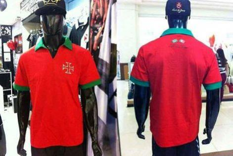 eedeea1650 Confira a camisa do Vasco em homenagem a Portugal - NETVASCO