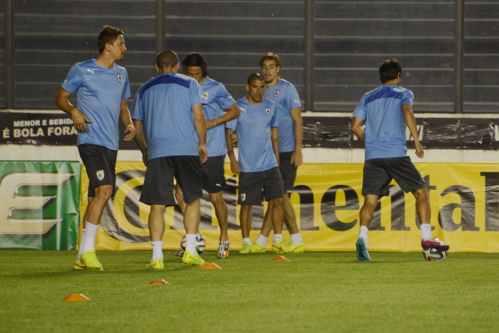 a2656793badb8 Uruguai e Colômbia treinaram em São Januário antes de duelo pelas ...