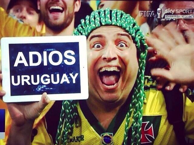 ace39ca0f908a Homem Piruca dá adeus ao Uruguai e imagem roda o mundo - NETVASCO