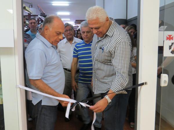 Presidente Roberto Dinamite inaugurou a nova academia na Sede da Lagoa