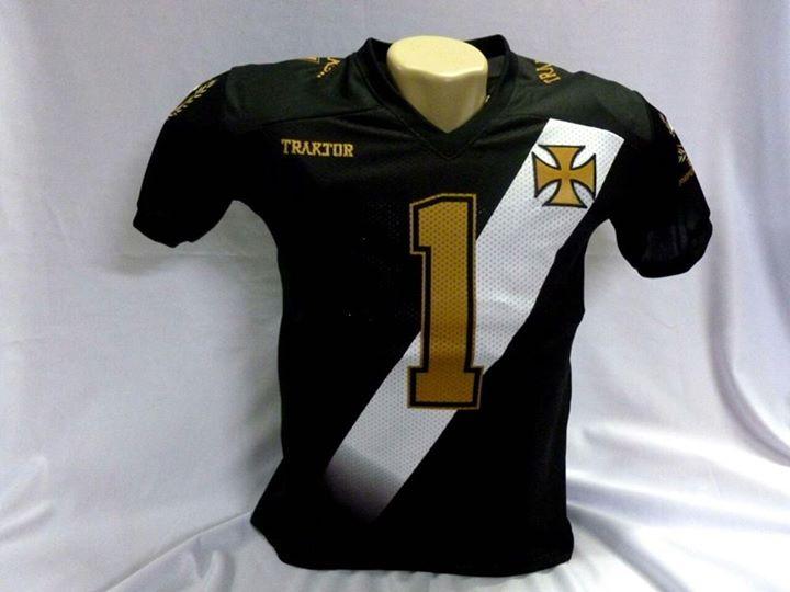 4891437ec7230 Futebol Americano  Vasco Patriotas lança camisa comemorativa do ...