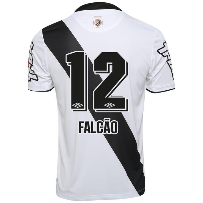 Futebol 7  Vasco põe à venda camisa 12 de Falcão  preço é R  239 7ce89688be539