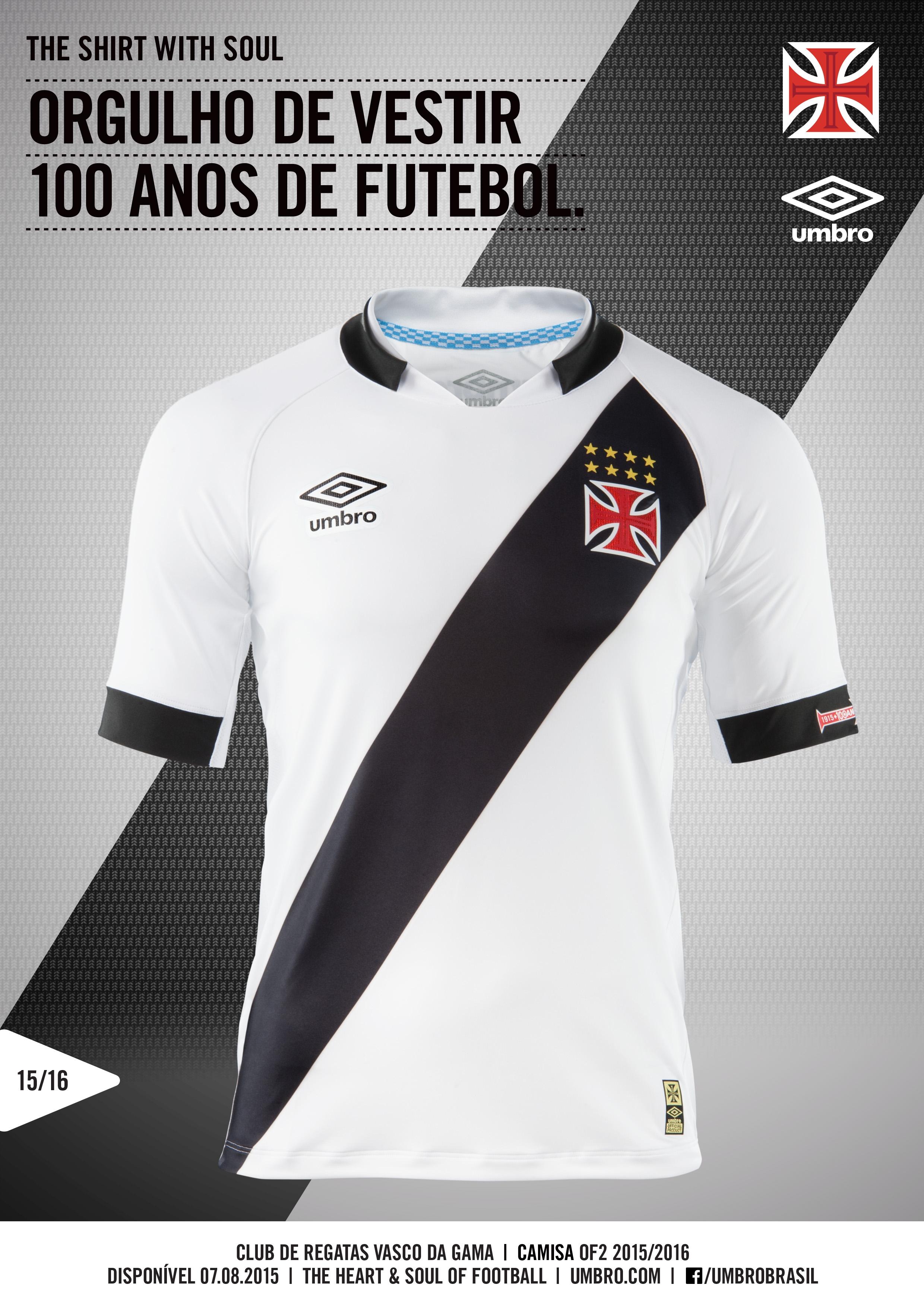 Veja fotos das novas camisas do Vasco a5ab2d9486b3a