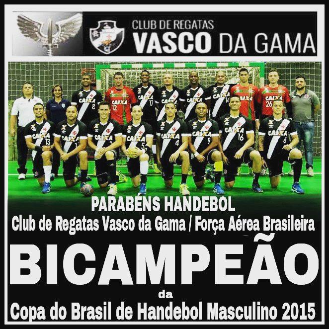 4444278982 Handebol  Vasco vence Londrina por 32 a 29 e é campeão da Copa Brasil