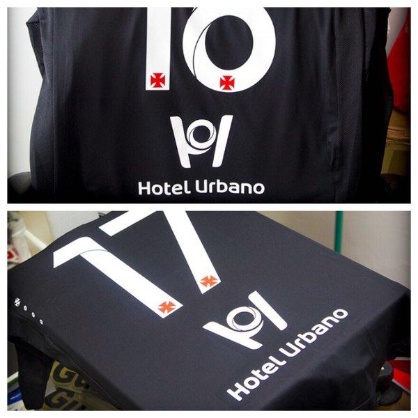 4eeebc39fe8b7 Veja camisa do Vasco para este domingo com o patrocínio do Hotel Urbano -  NETVASCO