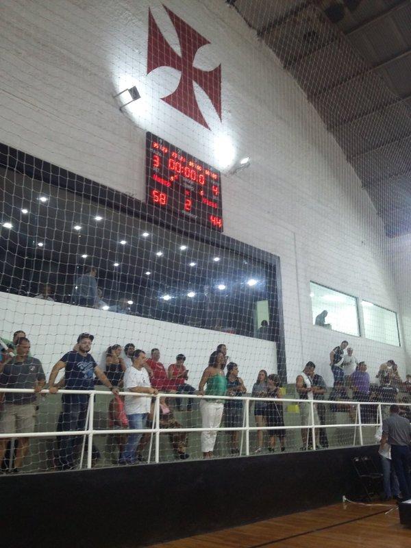 0e95482ca6 Basquete  Vasco vence Franca em sua reestreia na modalidade e na  reinauguração do ginásio  58 a 44 - NETVASCO