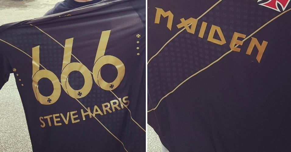 Camisa do Vasco personalizada para Steve Harris 3f1a69e4fdff8