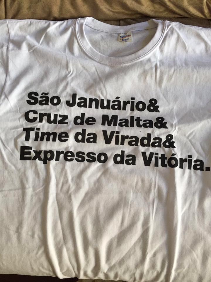 Veja as camisas da campanha de associação  Geral É Vasco  - NETVASCO 211b8b2c0f69d