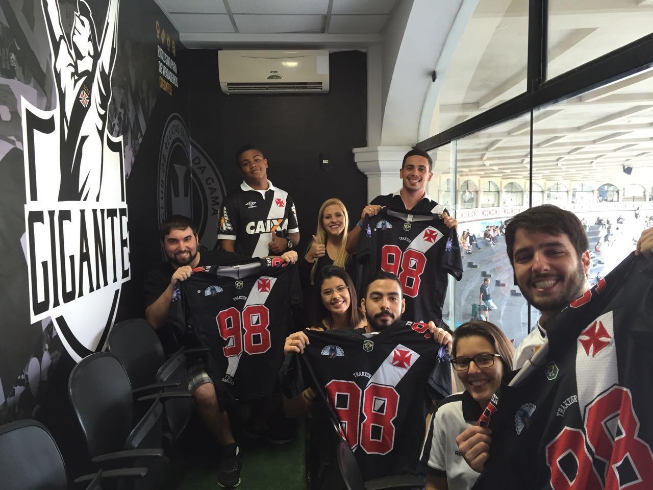 82f530d9ae Sócios-torcedores participaram de experiências exclusivas durante o jogo  Vasco x Paysandu