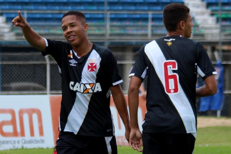 0ae171c144f21 Juvenil  Vasco goleia o Friburguense por 5 a 1 pelo Estadual - NETVASCO