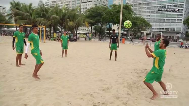566194c491 Beach Soccer  Vasco se prepara para o Brasileiro  estreia será contra o  Sport  veja vídeo - NETVASCO