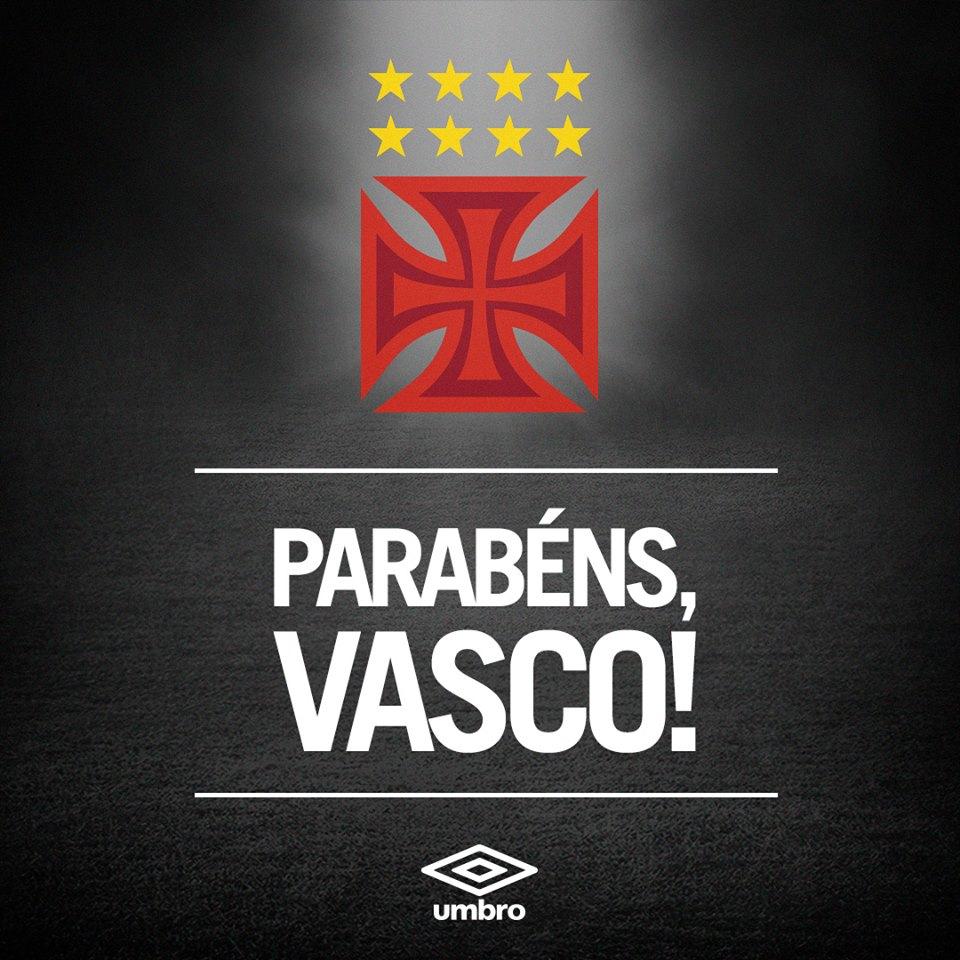 ac4dd3940d Umbro homenageia o Vasco pelo retorno à Série A - NETVASCO