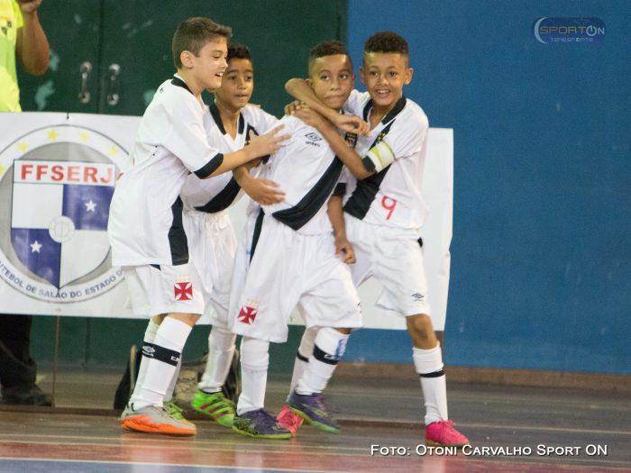 Futsal Base  Vasco obteve vitórias e se classificou em 3 categorias no  Estadual Série Ouro 1299c250c4b12