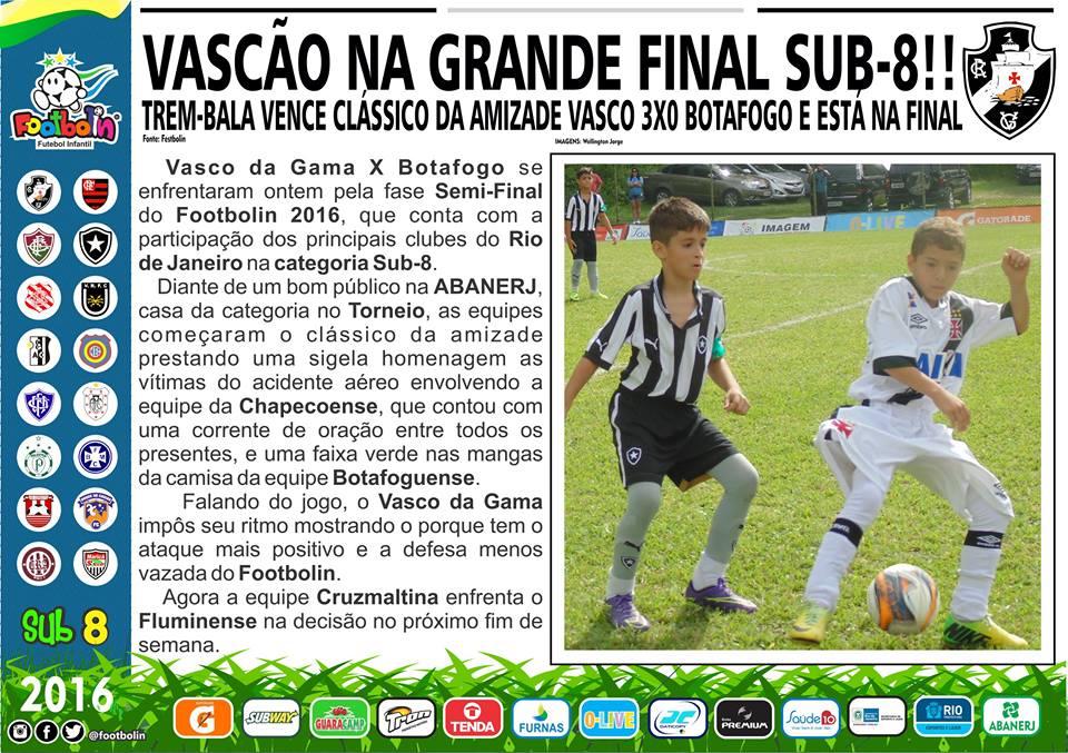 Vasco vence o Botafogo e fará final do Footbolin Sub-08 contra o ... a87d34d660d4a