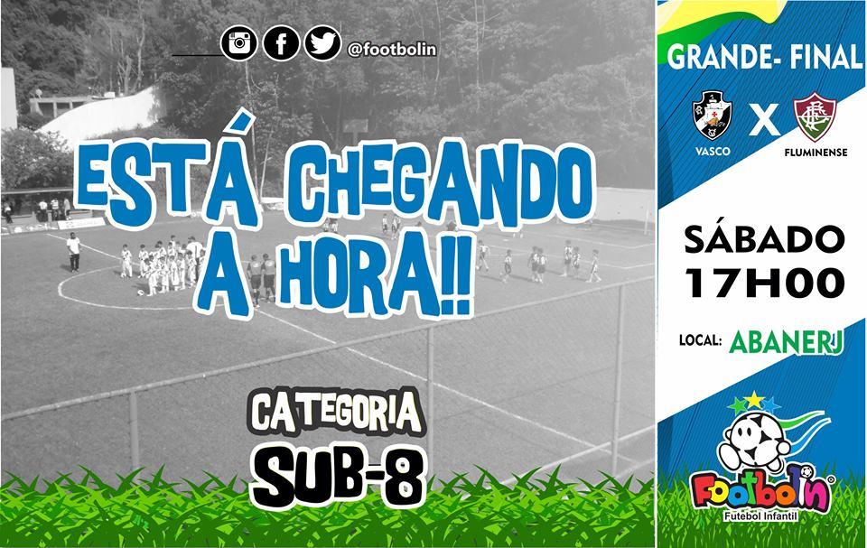 Vasco decide o Footbolin Sub-8 neste sábado às 17h contra o ... ce8b932e81f36
