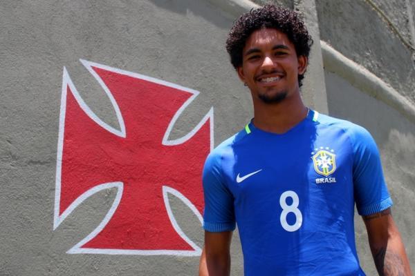 Douglas Luiz foi um dos vascaínos convocados para o Sul-Americano sub-20