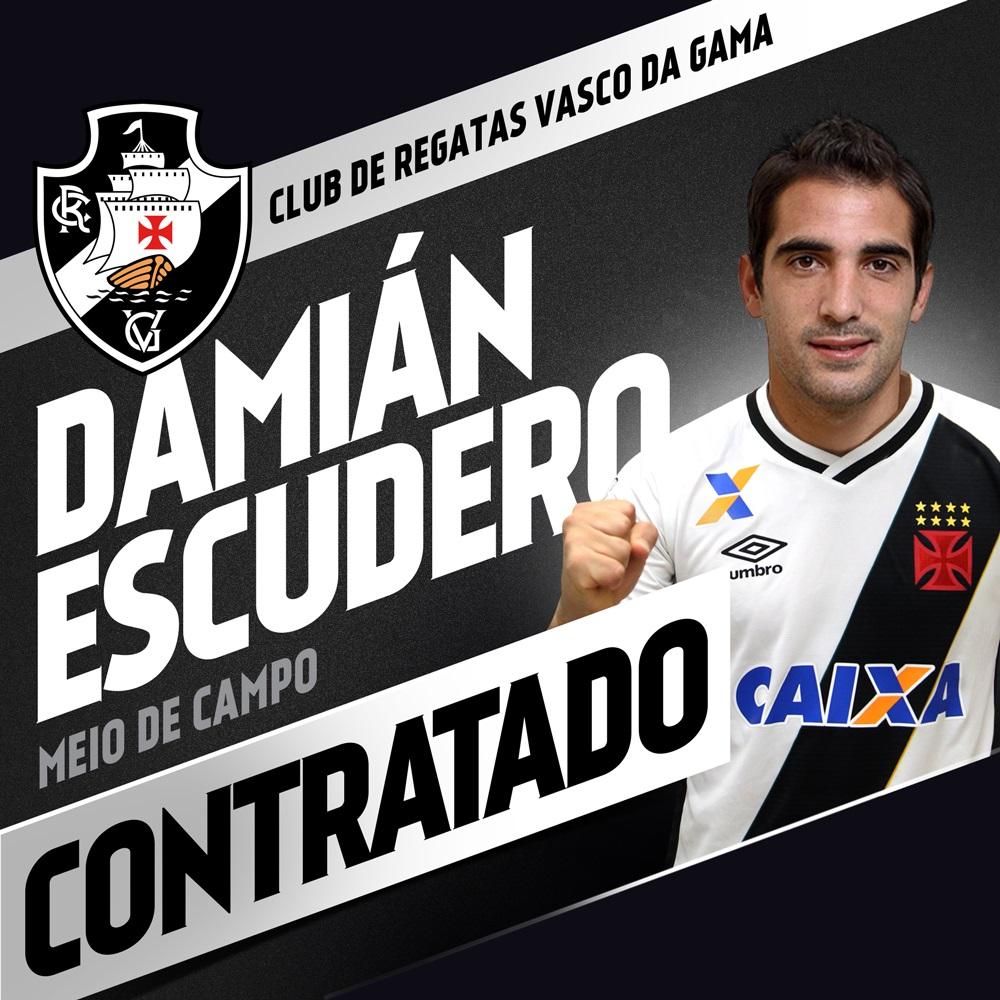 Vasco News - Vasco Minha Vida  Acompanhe a apresentação de Escudero ... 3b22b1d8e66cd