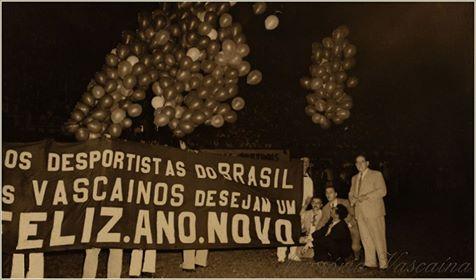 Veja mensagem de feliz ano novo do Vasco de 1943  03be9910154e2