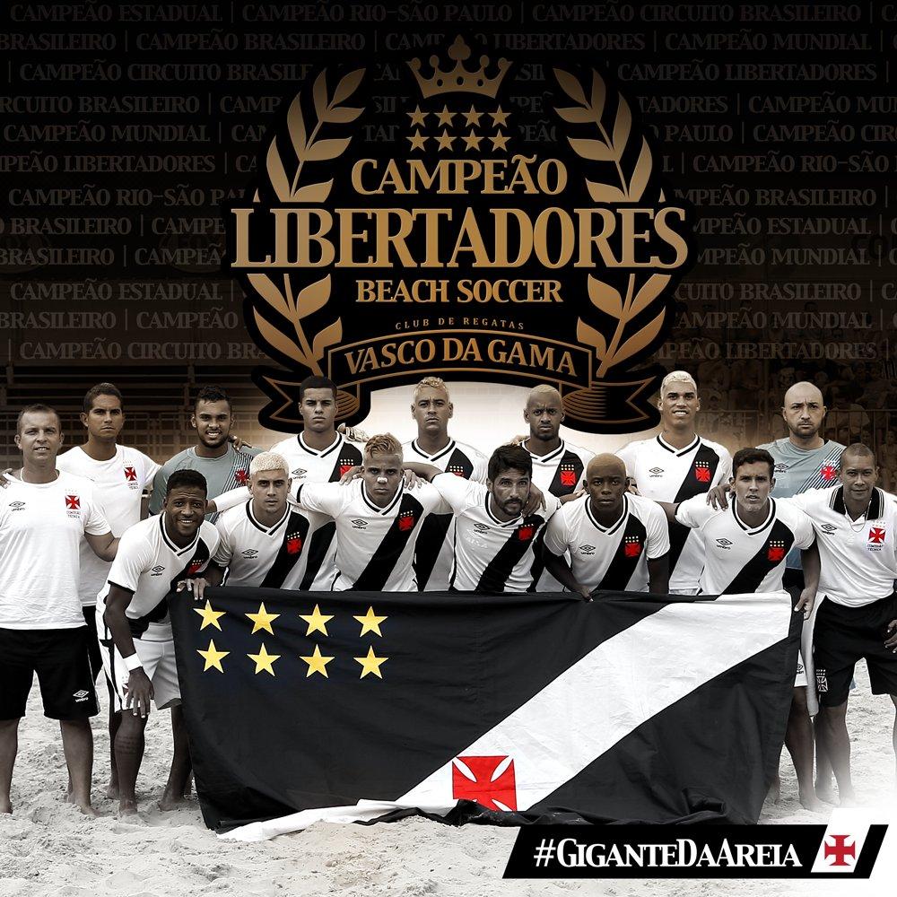 Vasco News - Vasco Minha Vida  Beach Soccer  Confira poster do Vasco ... df8438643b6b4