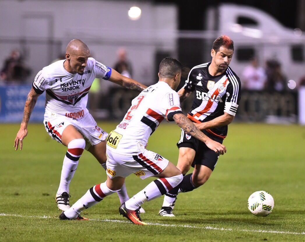 River Plate perde para o São Paulo e será o adversário do Vasco na Florida  Cup - NETVASCO 3361f73f61f04