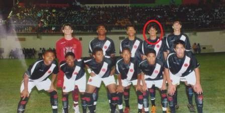Em 2008, Guilherme está no mesmo time que Luan