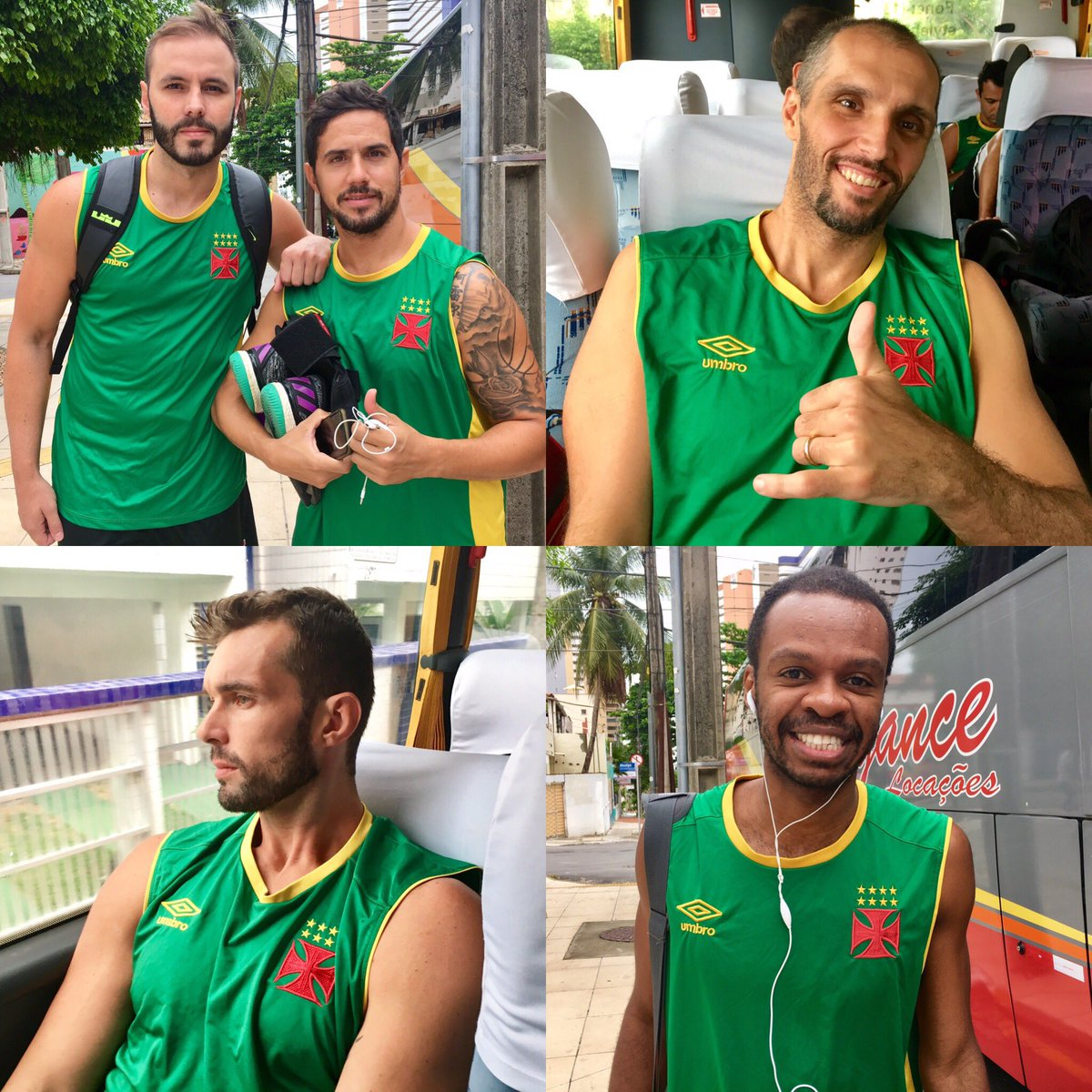 Basquete  Elenco do Vasco está à caminho do ginásio em Fortaleza - NETVASCO b649a807cdc9b