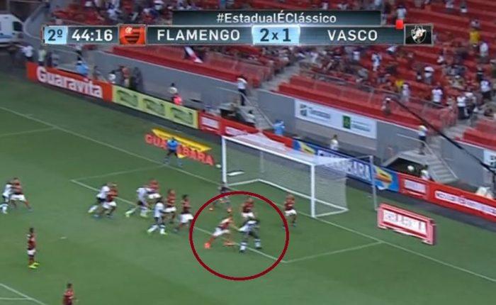 Manchetes de jornais alusivas a um favorecimento ao Vasco na partida do  último domingo contra o Flamengo 86090a2559890