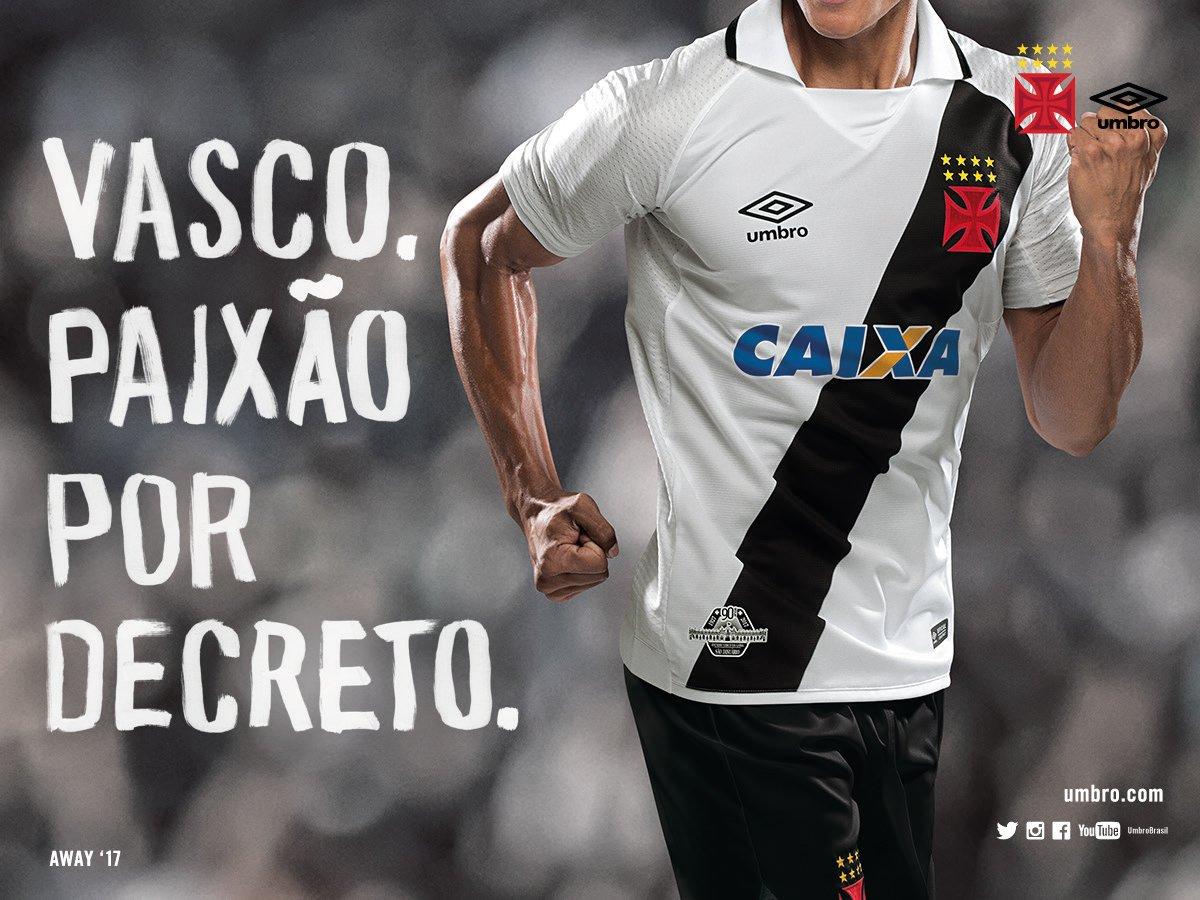 1fdca3638ce0a Fonte  Twitter oficial do Vasco Vasco da Gama  vascodagama. Confira mais  detalhes da nova camisa ...