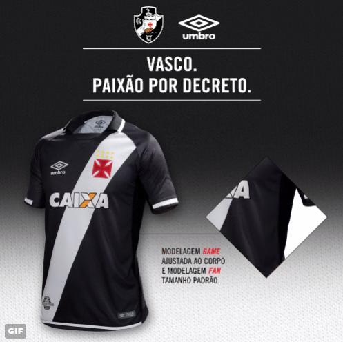 VP de marketing do Vasco fala sobre o lançamento das novas camisas ... 4ead7c207a651